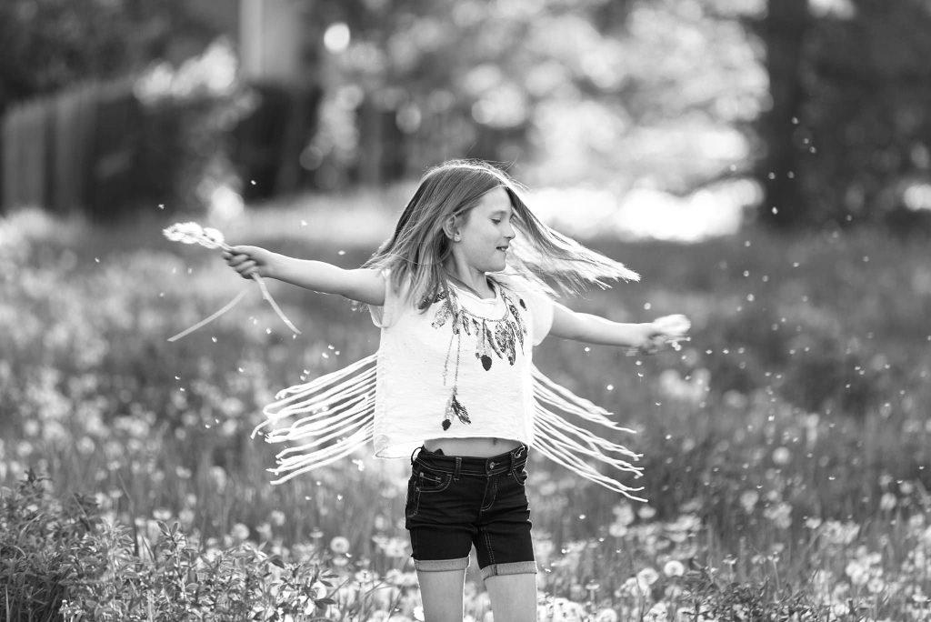 Good Morrow Photography - Black and white summer girl fringe new 1