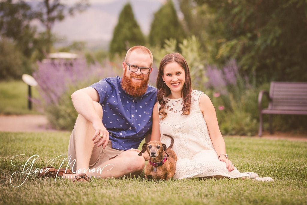 Good Morrow Photography - maternity with dog