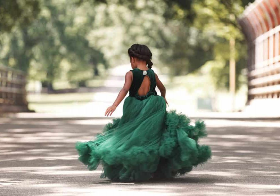 children's portraits, outdoors, princess, ball gown, child and family photographer, travel photographer,